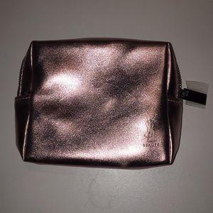 YSL Beauté Pink Metallic Beauty Case